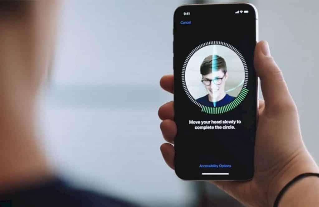 Penyebab face id iPhone X rusak
