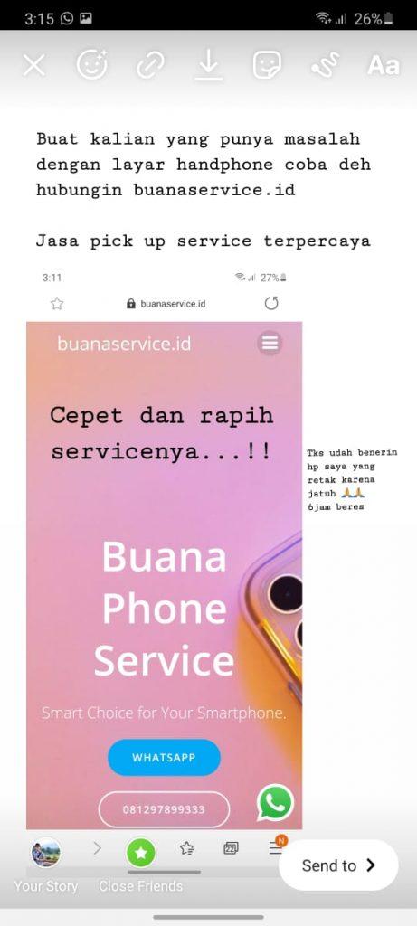 Service Handphone Panggilan Terpercaya